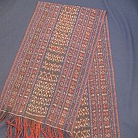 Photo 4 of our Naturally dyed wall hanging from N'Dona