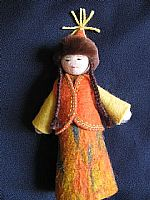 Photo 3 of our Lola Felt Doll