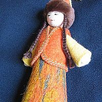 Photo 4 of our Lola Felt Doll