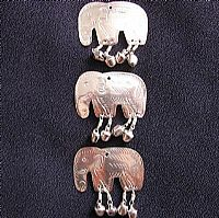 3 Tin Thai elephants