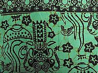 Photo 1 of our Bali batik apple green