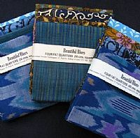 Photo 2 of our Beautiful Blues 4 fat quarters