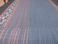 Photo 2 of our Indigo ikat by the metre
