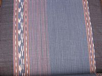 Photo 3 of our Indigo ikat by the metre