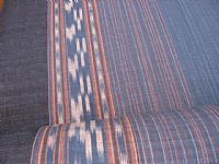 Photo 4 of our Indigo ikat by the metre