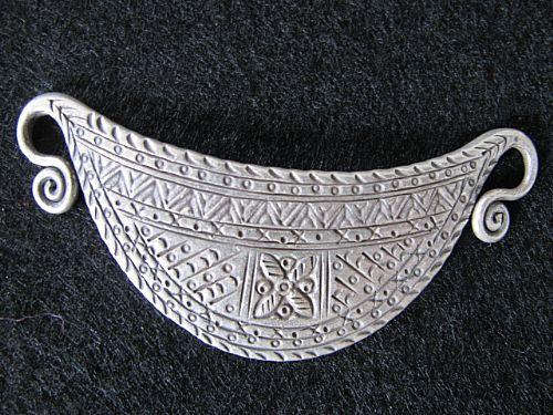 Photo of our Silver tribal pendant