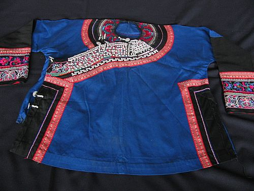 Photo of our Chinese jacket with stud work