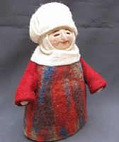 Photo 2 of our Jamilya (felt Baboushka doll)