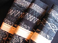 Photo 1 of our Indigo Batik sample set
