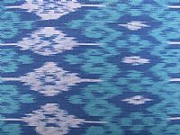 Photo 6 of our Blue and green ikat sample set