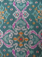 Photo 7 of our Blue and green ikat sample set