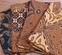 Photo 3 of our Traditional Javanese Batik sample set