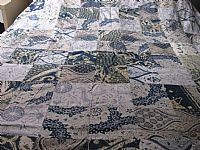 Photo 2 of our Double patchwork bedcover in vintage batik