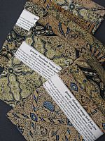 Photo 6 of our Vintage Batik 4 fat quarters
