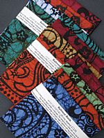 Photo of our Bali Batik 4 fat quarters