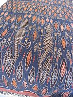 Midnight blue komodos large Sumba ikat