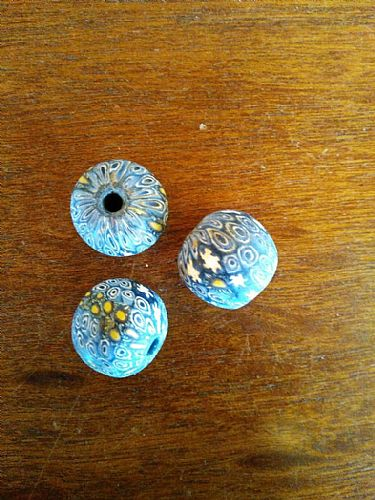 Photo of our Hand made ceramic bead