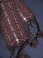 Photo 6 of our Lawolewok ikat with cowries