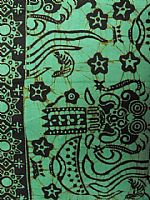 Photo 2 of our Bali batik apple green