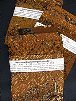 Traditional Batik 4 fat quarters