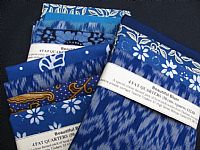 Photo 4 of our Beautiful Blues 4 fat quarters