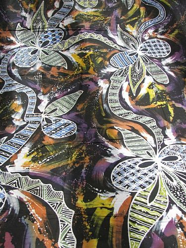 Photo of our Abstract whole cloth