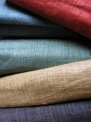 Photo of our Handwoven narrow 100% hemp - various colours