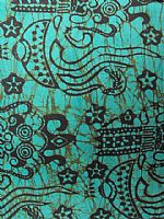 Photo 3 of our Bali batik aqua