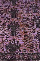 Photo of our Bali Batik sarong rich purple