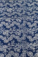 Blue and White Batik Garlands