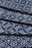 Photo link to Blue and White Batik