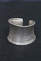 Photo 5 of our Silver basket weave bracelet