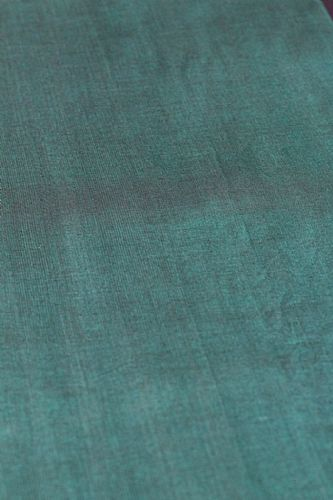 Photo of our Plain hand loomed fabric - Jade Green