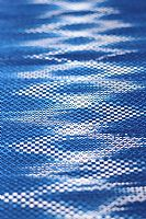 Photo 1 of our Indigo woven shawl 3