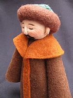Photo of our Usen (felt man)