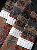 Photo of our Subtle Javanese Batik sample set