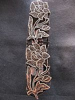 Photo of our Floral border copper stamp 5
