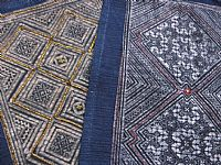 Photo 1 of our Fine indigo batik (medium)