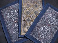 Photo 2 of our Fine indigo batik (medium)