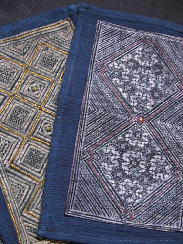 Photo of our Fine indigo batik (medium)