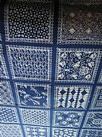Photo 1 of our Blue and white sampler cloth
