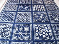 Photo 3 of our Blue and white sampler cloth