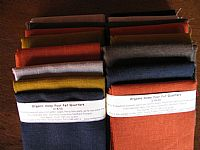 Photo 3 of our 100% Hemp 4 fat quarters