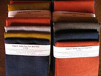 Photo 4 of our 100% Hemp 4 fat quarters