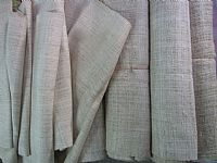 Photo 3 of our Handwoven 100% hemp - natural undyed