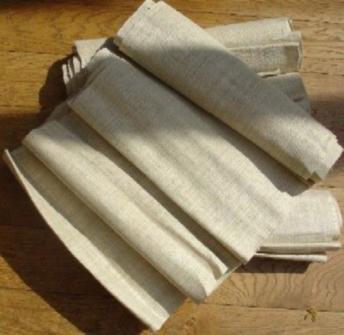Photo of our Handwoven 100% hemp - natural undyed