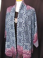 Photo 2 of our Thai ikat jacket M