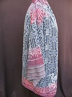 Photo 3 of our Thai ikat jacket M