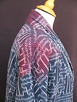 Photo 4 of our Thai ikat jacket M
