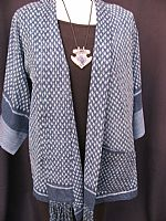 Thai ikat jacket S/M